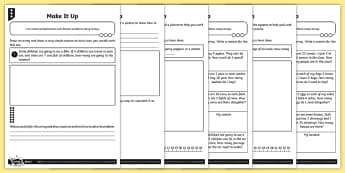 Using Arrays Differentiated Activity Sheets - Multiplication and Division, arrays, Solve problems involving multiplication and division, using mat