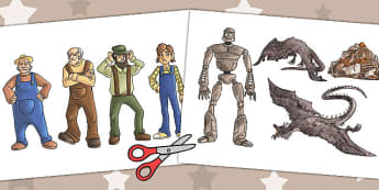 The Iron Man Picture Cut Outs - iron man, cutout, display picture