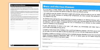 Illness and Infectious Diseases for Childminders - childminders