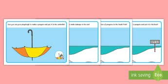 Lost Penguin Playdough Mats to Support Teaching on Lost and Found - Lost and Found, Oliver Jeffers, polar regions, penguin, antarctic, south pole, arctic