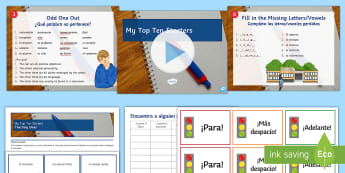 My Top 10 Starters Teaching Ideas Spanish - motivation, lesson, planning, activities, games, ideas, starter, inspiration