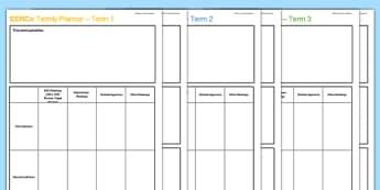 SENCo 3 Term Planner Pack - senco, 3 term planner, term, 3, planner, pack, plan