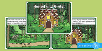 Hansel and Gretel eBook - interactive books, traditional tales