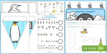 Childminder EYFS Resource Pack to Support Teaching on Lost and Found - Lost and Found, Oliver Jeffers, polar regions, south pole, Antarctic, child minder, childminding, pe