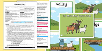 Billy Goats Gruff Musical Story EYFS Adult Input Plan and Resource Pack
