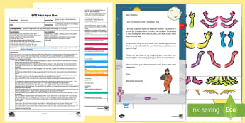 EYFS Design an Alien Recording Using Marks Activity Adult Input Plan and Resource Pack - Mathematics, number, counting, count, EYFS, Early Years Planning, Record, Interpret, explain, data,