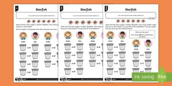 Deriving Number Bonds to Six Differentiated Worksheet / Activity Sheets - Addition and Subtraction, all possibilities, proof, add, take away, work methodically, context, deri