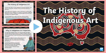 Aboriginal Art PowerPoint - Aboriginal art, australian art, indigenous art, aboriginal history, indigenous history
