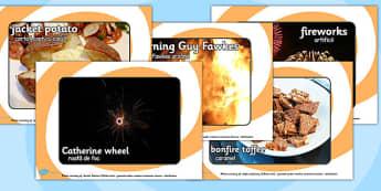 Bonfire Night Display Photos Romanian Translation - romanian