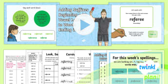 PlanIt Y6 Term 2A W1: Adding Vowel Suffixes to Words Ending in -fer Spelling Pack - Spellings Year 6, SPaG, GPS, Y6, Year 6, statutory, vowel suffix, suffix, suffixes, weekly, test, li