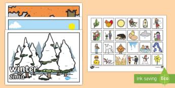 Seasons Sorting Activity English/Polish - Seasons Sorting Activity - seasons, sorting, activity, game, seaons,Polish-translation