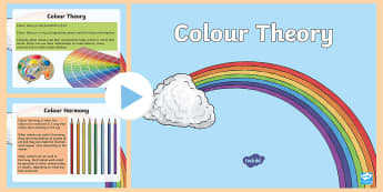 3-6 Colour Theory PowerPoint - Color, Wheel, Primary, Secondary, Tertiary, Color Theory, Complimentary, Tone, colour, colours,Austr