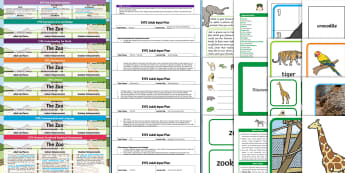 EYFS The Zoo Bumper Planning Pack - Early Years planning, plan, Dear Zoo, Foundation, continuous provision, enhancements adult led, topi