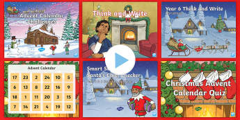 UKS2 Christmas English Morning Starter Resource Pack - Christmas Morning English Tasks, Morning Tasks, Christmas English, Christmas Timefillers, Time Fille