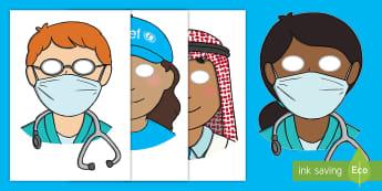 KS1 Medical Centre Role Play Activity - EY/KS1 Unicef