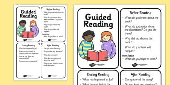 Guided Reading Cards - guided reading, reading, word cards, cards, themed word cards, key words, keywords, key word cards, flash cards, flashcards