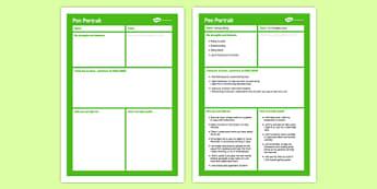 Pen Portrait Primary - pen portrait, pen, portrait, primary, sen, special educational needs