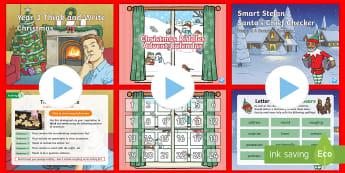 LKS2 Christmas English Morning Starter Resource Pack - Christmas Morning English Tasks, Morning Tasks, Christmas English, Christmas Timefillers, Time Fille