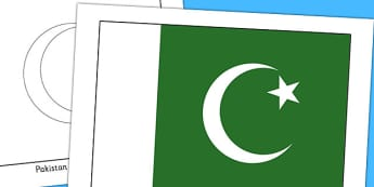 Pakistan Flag Display Poster - countries, country, geography