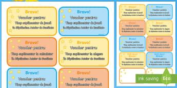 Vouchere Săptămâna actelor de bunătate - bunătate, dezvoltare personala, comportamente pozitive, recompense, materiale, română, acte de bu