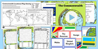 Commonwealth Lesson Teaching Pack - commonwealth, lesson, teaching