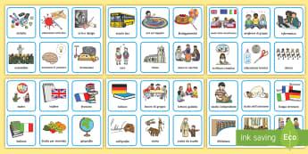 Orario Illustrato Attività - classe, oratio, lezioni, scuola, italiano, italian, materiale, scolastico