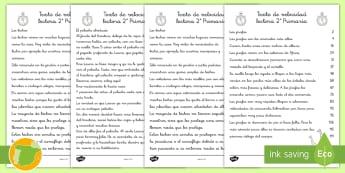 Textos de evaluación: La velocidad lectora 2º primaria - lecto, leer, lectura, sonidos, letra , lecto-escritura, fonemas, sonidos, consonantes, lectora, eval