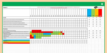 2014 Curriculum Year  4 Science Spreadsheet - science, assess
