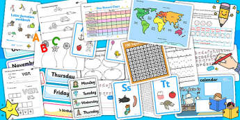 Home Educator Set Up Pack - home learning, home education, learn