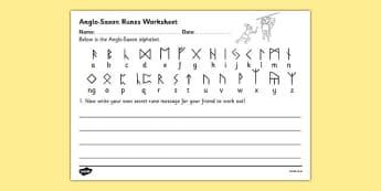 anglo saxon runes pdf