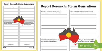 National Sorry Day Information Report Writing Template - Australia English National Sorry Day, 26 May, Year 3, Year 4, Year 5, Year 6, Information Report,Aus