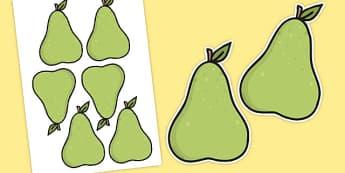 Editable Pears Self-Registration - pears, self-registration