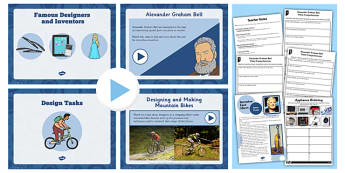 Famous Inventors and Inventions Lesson Teaching Pack - invent