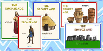 Bronze Age Display Posters - bronze age, history, history display