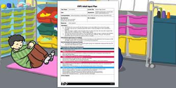 Squeak Piggy Squeak EYFS Adult Input Plan - input plan, piggy