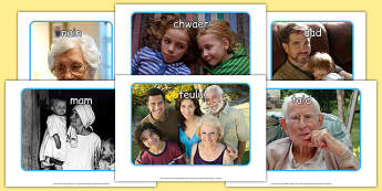 fy nheulu Display Photos Cymraeg - cymraeg, welsh, my family, display photos, display, photos, photographs