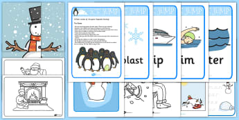 parents Snow day Activity Pack - snow, activity pack, childminder