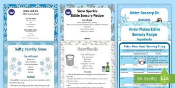 Winter-Themed Sensory SEN Resource Pack - Winter Paralympics, Sensory ideas, Sensory processing, sensory integration, Practical resources