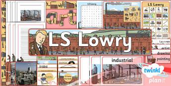 Art: LS Lowry KS1 Unit Additional Resources
