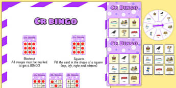 CR Spinner Bingo - cr, spinner bingo, spinner, bingo, activity, cr sound