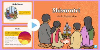 KS1 Shivaratri PowerPoint - Key Stage 1, KS1, year 1, year 2, yr 1, yr 2, year one, year two, Shivaratri, Maha Shivaratri, Lord