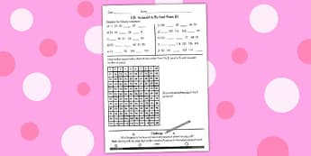 Counting in 9 Not From 0 Worksheet - counting, maths, 9, sheet