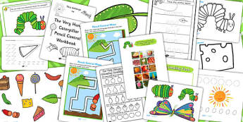 Fine Motor Skill Resource Pack to Support Teaching on The Very Hungry Caterpillar