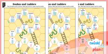 PlanIt Maths Y1 Number and Place Value Snakes and Ladders 1 to 20 Home Learning Tasks - Counting, Numbers, Concrete, pictorial, abstract, singapore maths, shanghai maths, bar modelling, ma