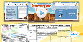History: Early Islamic Civilisation: Discovery and Learning UKS2 Lesson Pack 3