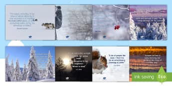 Elderly Care - Winter A4 Display Posters - Winter, Season, December, January, February, Snow, Activity Co-ordinators, Support, Ideas, Elderly C