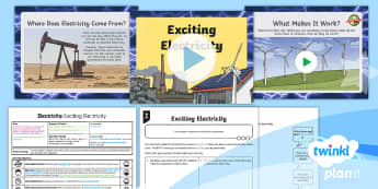 Science: Electricity: Exciting Electricity Year 4 Lesson Pack 1