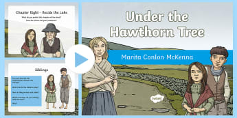 Chapter Eight PowerPoint to Support Teaching On Under the Hawthorn Tree - Resources to Support The Teaching Of Under the Hawthorn Tree, quiz, under the hawthorn tree, stories