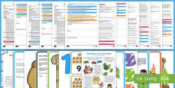 EYFS Maths: Numbers ELG Adult Input Planning and Resource Pack - Mathematics, early learning goal, early years, adult led, home learning,