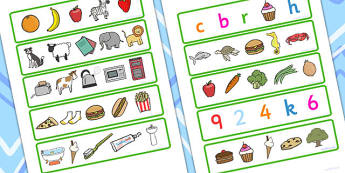 Which One Doesn't Belong Activity - sorting, matching, SEN, game